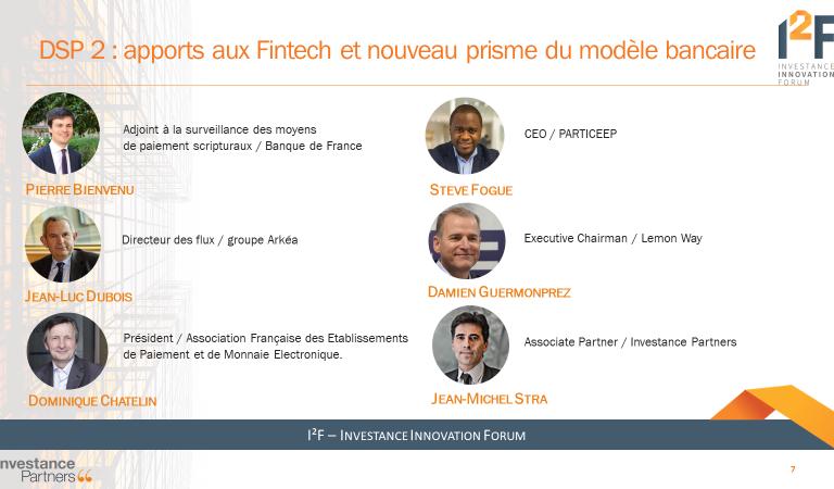 Investance Innovation Forum speakers
